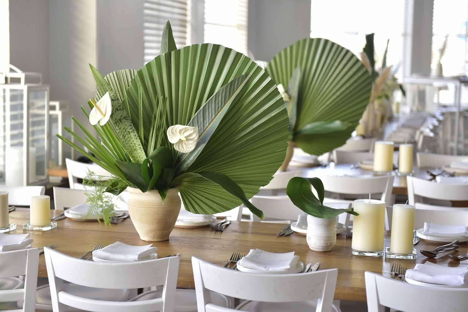 עיצוב שולחן באירוע