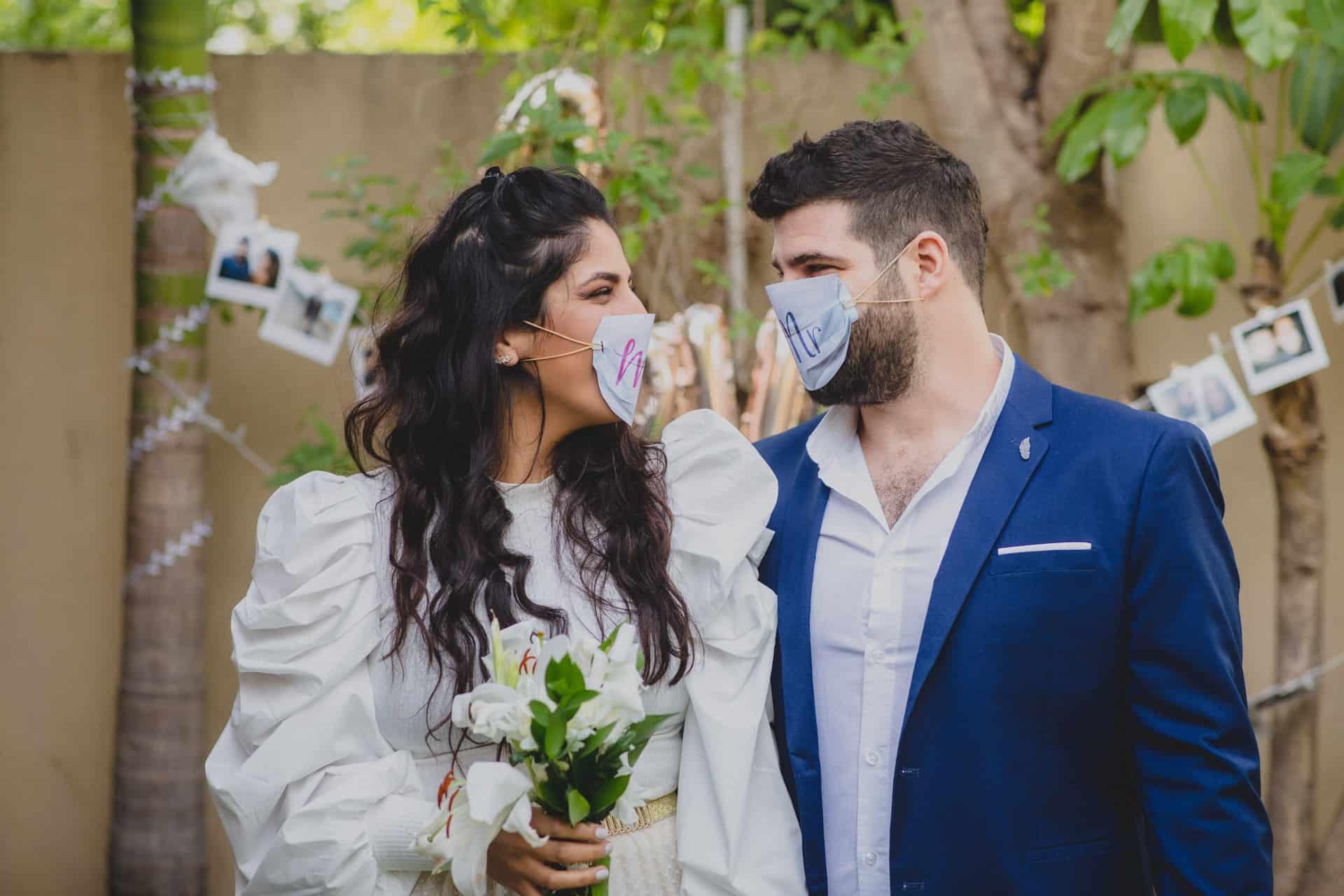 חתונה בזמן הקורונה