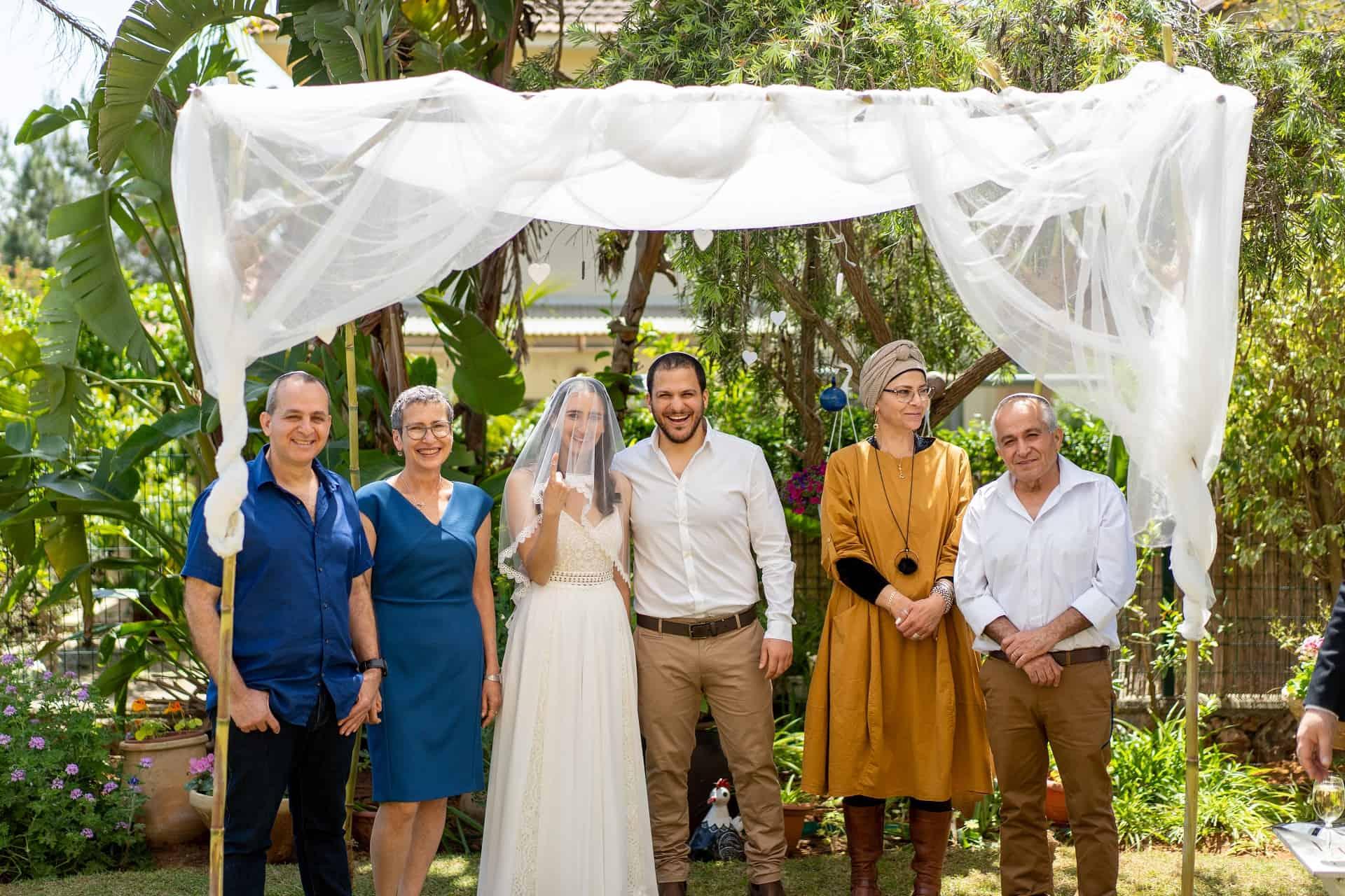 צילומי משפחה בחתונה