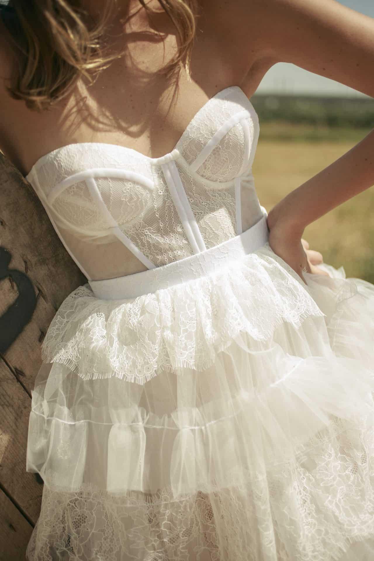 גיזרה של שמלת כלה