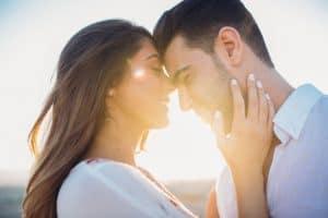 זוג לאחר החתונה