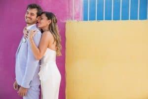 זוג לאחר בחירת צלם סטילס לחתונה