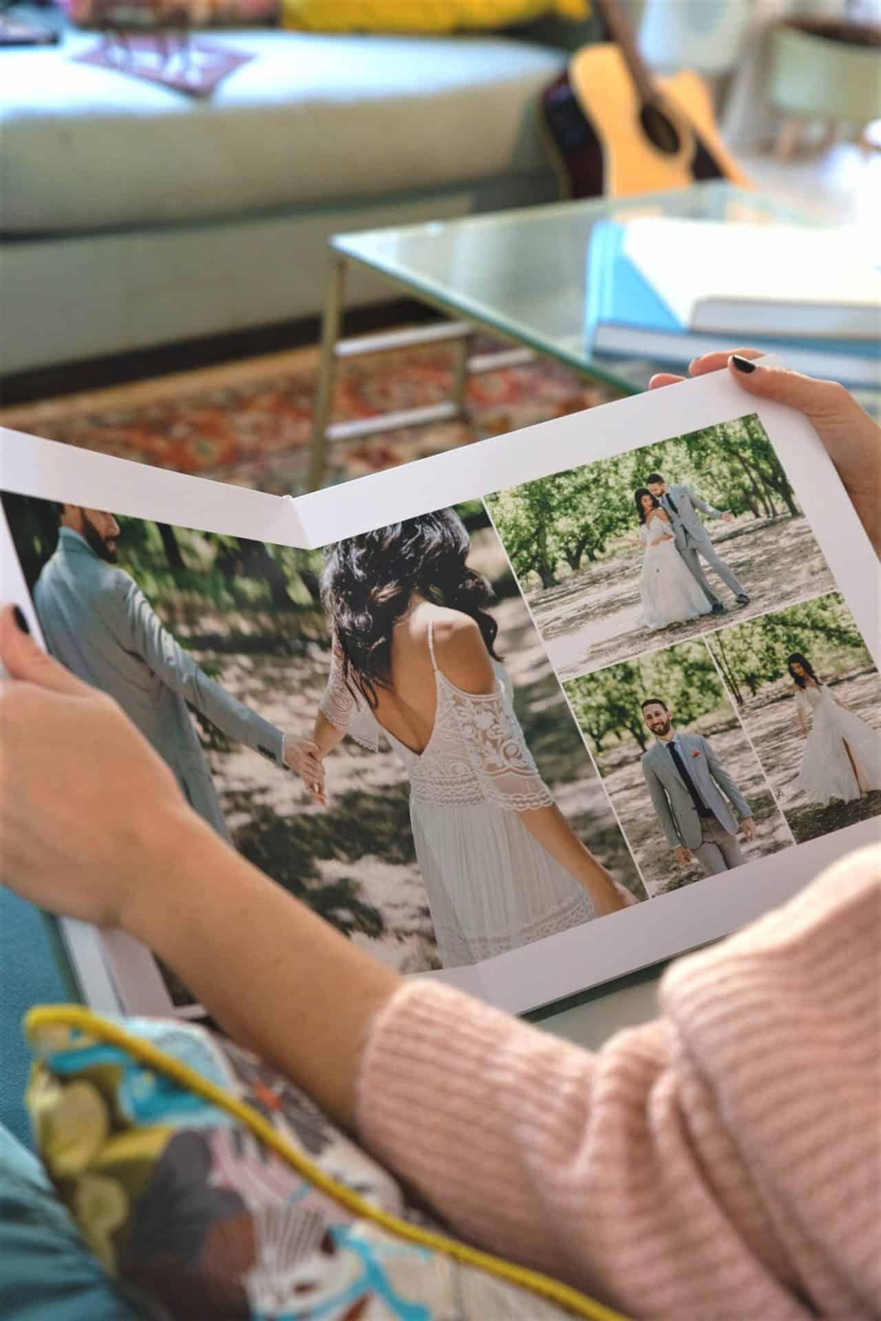 הזמנות ומיתוג - צפייה באלבום חתונה