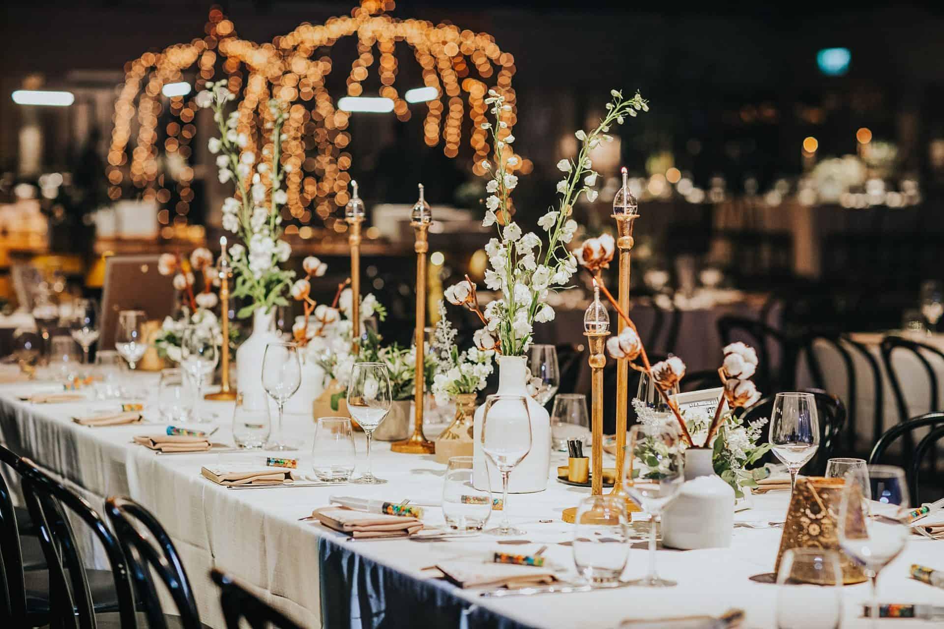 עיצוב חתונה מושקע