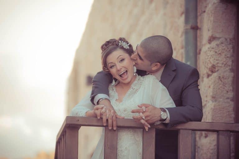 כלה וחתן בצילומים