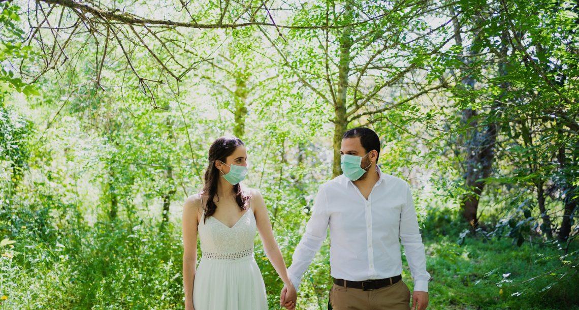 סיפור אהבה בצל הקורונה – החתונה של בן וטל